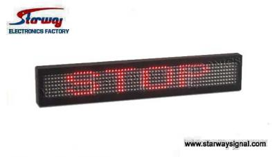 LED-0105 Message Screen for Vehicle