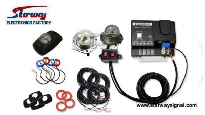 LED347D Hide-A-Way Kit with 4 Heads